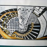 Lighthouse print hot off the presses