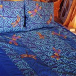 Blue Dragonfly Bed