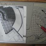 lino block & template